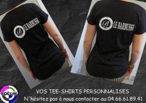 Vos tee-shirts personnalisés